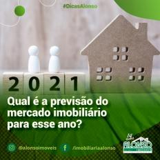 Qual é a previsão do mercado imobiliário para 2021?