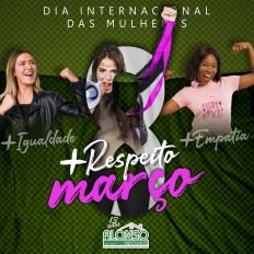 8 de Março - Dia Internacional das Mulheres!