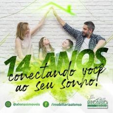 Alonso Imóveis: 14 anos conectando você ao seu sonho!